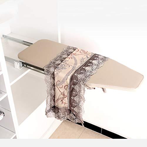 TT&CC Home ASSE da Stiro Estraibile, Armadio cassetto Estraibile Facile da Scorch Resistente di economia di Spazio di Installazione Pieghevole Retrattile ASSE da Stiro-A 81x30cm(32x12inch)