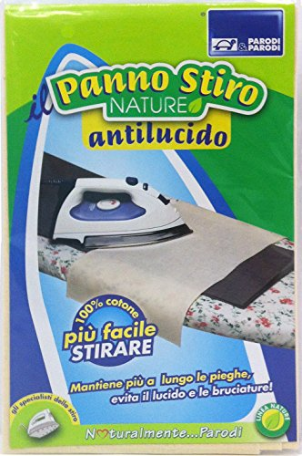 Parodi&Parodi Stiro Panno Antilucido, Cotone, Beige, 14x24x1 cm